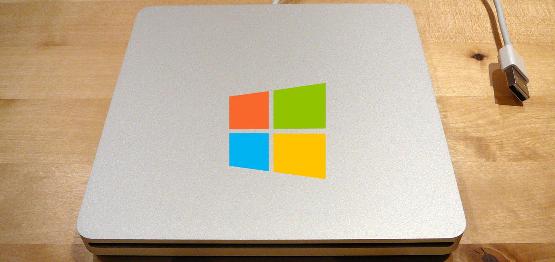mac superdrive on windows 10